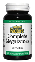 Complete Megazymes - 90 Tabs - Natural Factors