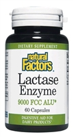 Lactase Enzyme - 60 Caps - Natural Factors