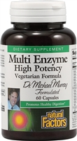 Dr. Murray Multi Enzyme - 60 Caps - Natural Factors