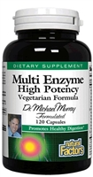 Dr. Murray Multi Enzyme - 120 Caps - Natural Factors