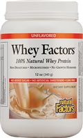 Whey Factors Drink Mix Unflavored - 12 Oz. - Natural Factors