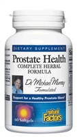 Prostate Health Formula - 60 Softgels - Natural Factors