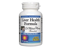 Liver Health Formula - 60 Caps - Natural Factors