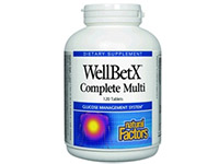 WellBetX Complete Multi -120 Tabs - Natural Factors