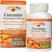 Curcumin Theracurmin - 60 Veg Caps - Natural Factors