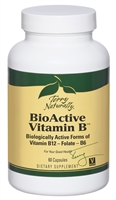 BioActive Vitamin B - 60 capsules - Terry Naturally 367703180065