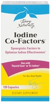 Iodine Co-Factors 120 Count Capsules Terry Naturally Europharma 367703360023