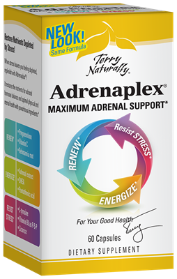 Adrenaplex 60 Count Capsules Europharma - Terry Naturally 367703370060.
