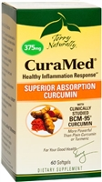Curamed 375 Mg Terry Naturally 60 Count Softgels - Europharma 367703402068