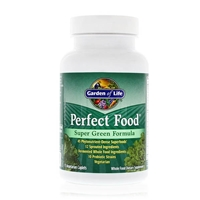 Perfect Food Super Green Formula - 75 Vegetarian Caplets - Garden of Life