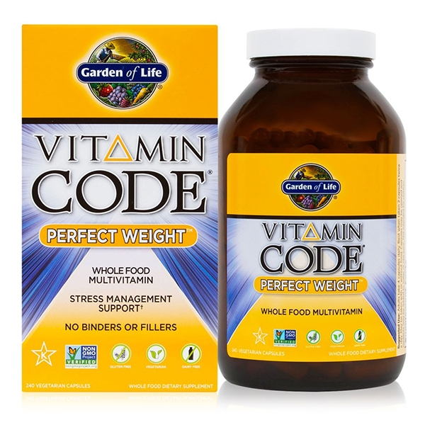 Vitamin Code Perfect Weight Multivitamin 240 Vegetarian Capsules
