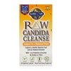 RAW Candida Cleanse 60 Vegetarian Capsules Garden of Life 658010114349