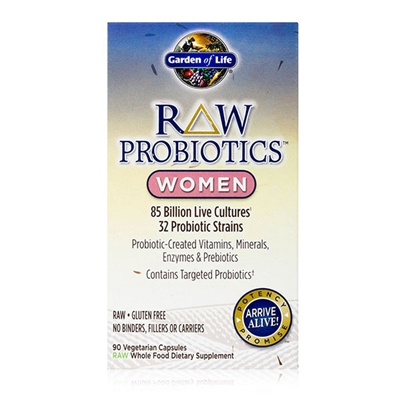 RAW Probiotics Women 90 Capsules Garden of Life 658010115674