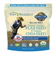 RAW Organics - Organic Flax Meal + Chia Seeds 12 oz - Garden of  Life