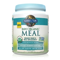 RAW Organic Meal Shake & Meal Replacement Powder Original - 16 oz (454g) - Garden of Life
