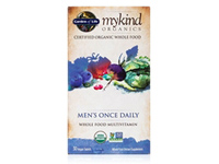 mykind Organics Men's Once Daily Multivitamin - 30 Vegan Tablets - Garden of Life 658010117661