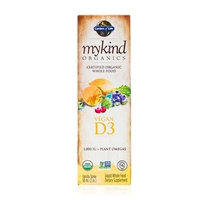 mykind Organics Vegan Vitamin D3 Spray 1,000 IU Vanilla - 2 fl oz - Garden of Life