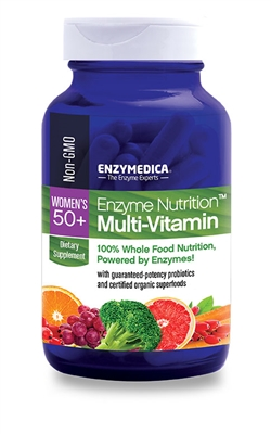 Enzyme Nutrition Women's 50+ Multi-Vitamin 60 cap Enzymedica