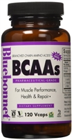 BCAAS PHARMACEUTICAL GRADE 120 CAPSULES BLUEBONNET NUTRITION