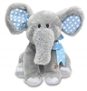 Animated Plush Elephant - Blue