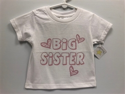 Big Sister T-Shirt for Toddlers