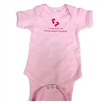 I was born at Greenwich Hospital Onesie: Pink