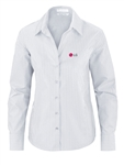 LADIES Pinstripe Wrinkle Free Dress Shirt