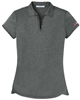 Ladies Port Authority Trace Heather Polo