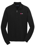 Mens Half-Zip Sweater