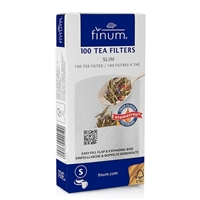 Finum Paper Tea Filters - Slim - Make up to 4 Cups