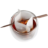 Finum Paper Tea Filters - Cup Size with Tea Stick