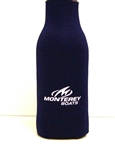 Zipper Bottle Koozie - Navy