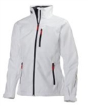Ladies HH Crew Midlayer Jacket - WHITE