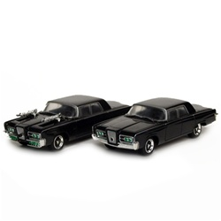 The Green Hornet - Movie Black Beauty Die Cast Vehicles - Both Models