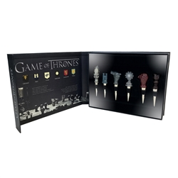 Game Of Thrones - House Sigil Wine Stoppers