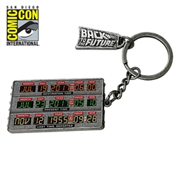Back To The Future Part II - Time Circuit Keychain 2017 San Diego Comic-Con Convention Exclusive