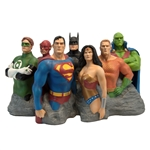 The Justice League - Original 7 Alex Ross Fine Art Sculpture