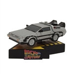 Back to the Future - Delorean Time Machine Premium Motion Statue