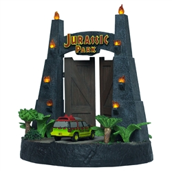 Jurassic Park - Gates Environment Sculpture