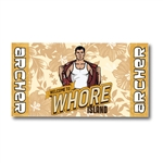 Archer - Whore Island Beach / Bath Towel