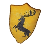 Game Of Thrones - House Sigil Throw Pillow - BARATHEON