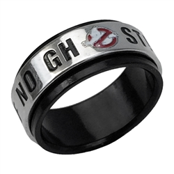 Ghostbusters - No Ghosts Spinner Ring