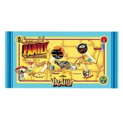 National Lampoon's - Vacation Map Beach / Bath Towel