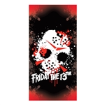 Friday The 13th - Jason's Mask Beach / Bath Towel