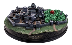 Game Of Thrones - Winterfell Desktop Sculpture