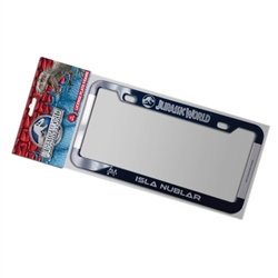 Jurassic World - Isla Nublar License Plate Frame