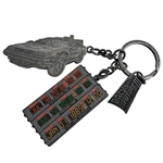 Back To The Future Part III - Time Circuit Keychain 2018 San Diego Comic-Con Convention Exclusive
