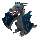 Game Of Thrones - Icy Viserion Dragon Light Up Plush 2018 San Diego Comic-Con Convention Exclusive