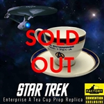 Star Trek - Enterprise A Tea Cup 2020 Consolation-Con SDCC Exclusive