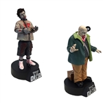 Shaun Of The Dead - Zombie Ed & Vinyl Zombie Premium Motion Statue Set